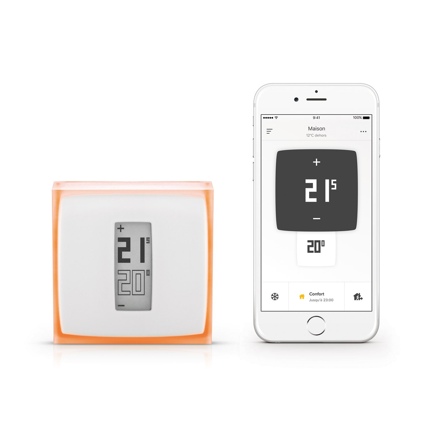 Thermostat connecte netatmo by starck